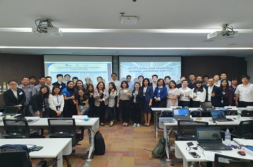 GCP's Sales and Marketing Strategy Workshop with TTC and SCI
