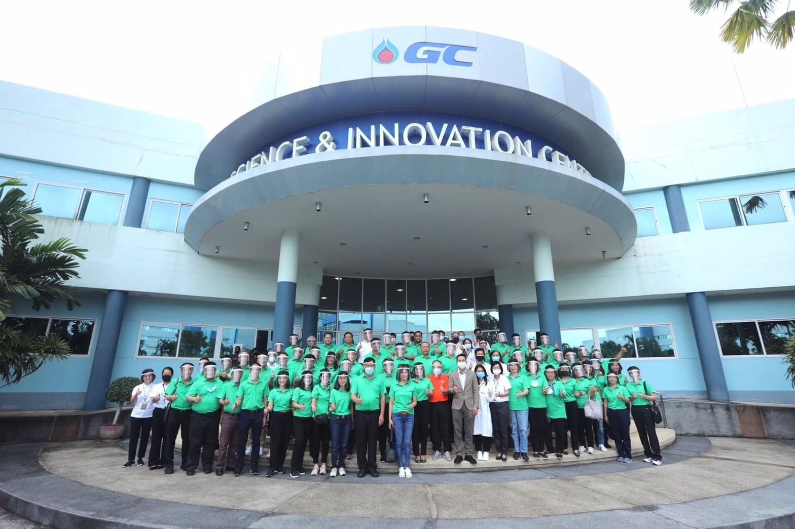 Thailand Energy Academy (TEA Class 15) Visited Polyurethane Application Center